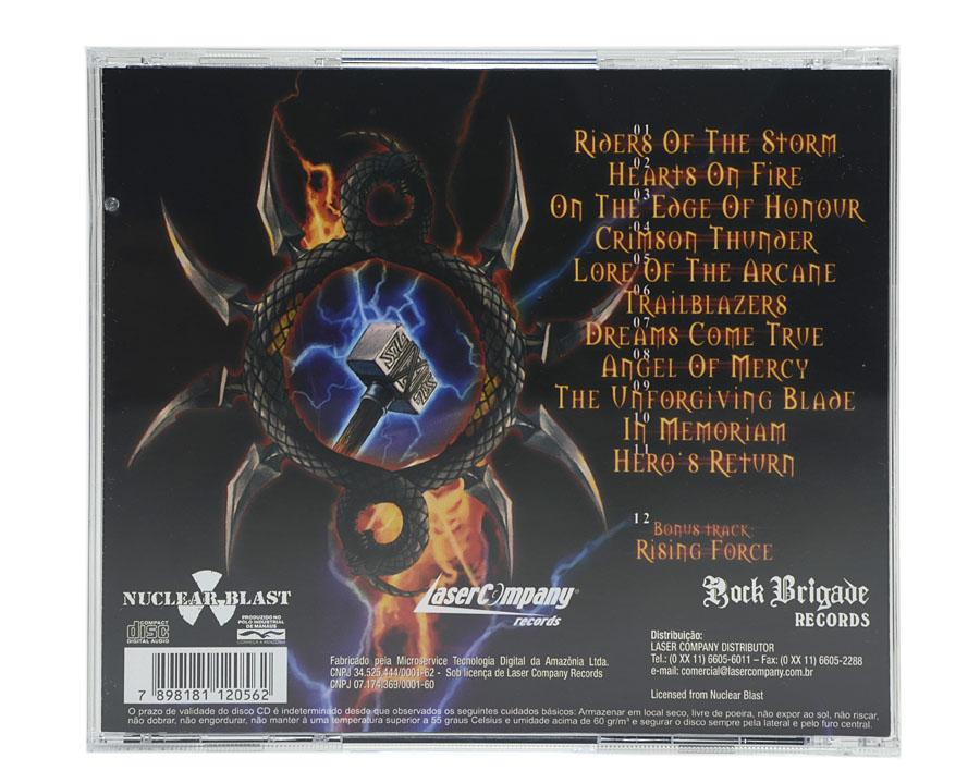 CD HammerFall - Crimson Thunder - Lacrado