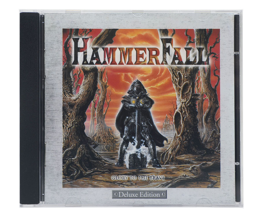 CD HammerFall - Glory To The Brave - Deluxe Edition - Lacrado