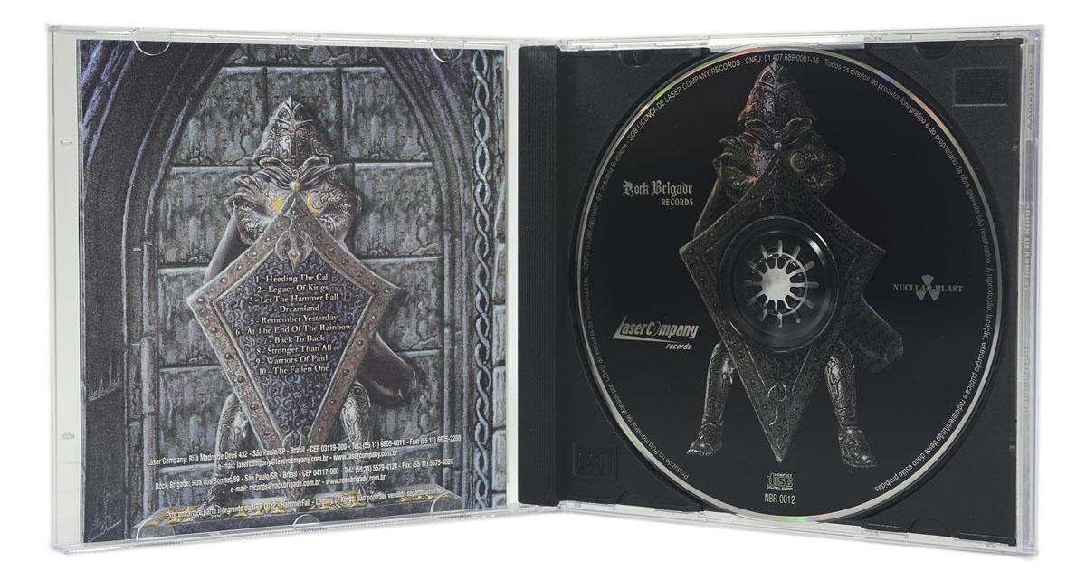 CD HammerFall - Legacy Of Kings - Lacrado