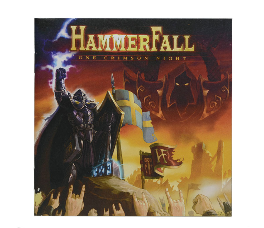 CD HammerFall - One Crimson Night (DUPLO) - Lacrado