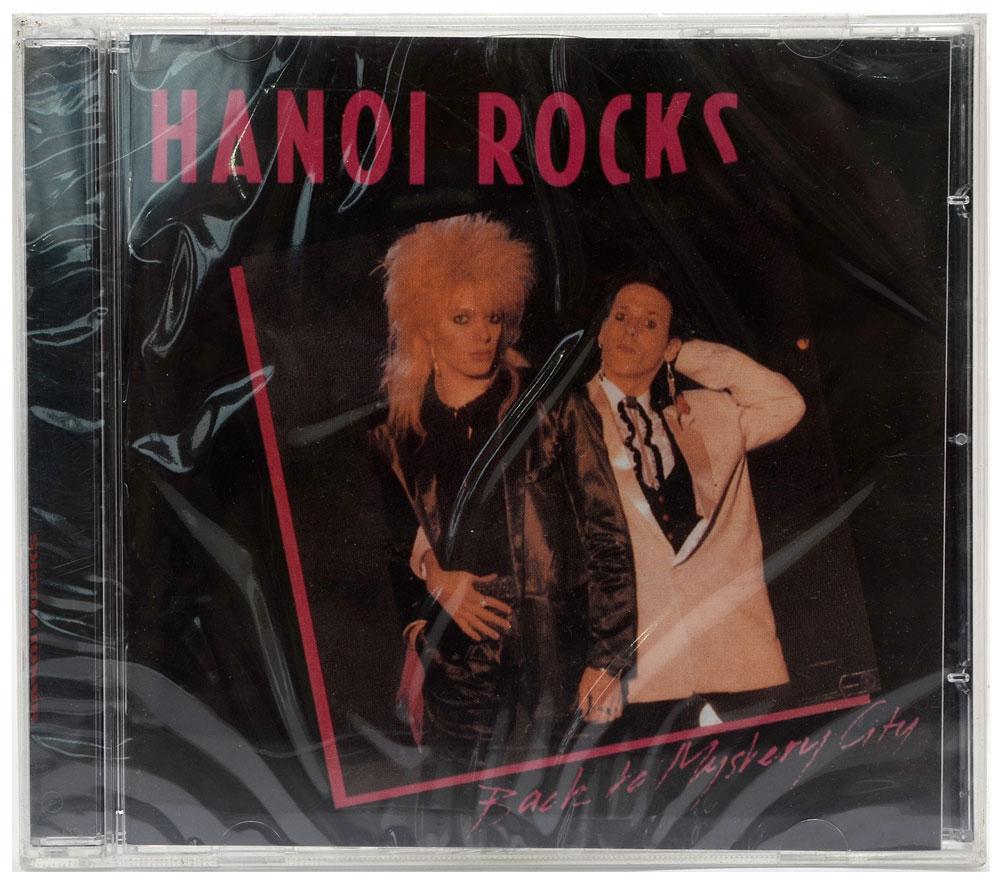 CD Hanoi Rocks - Back To Mystery City - Importado - Lacrado