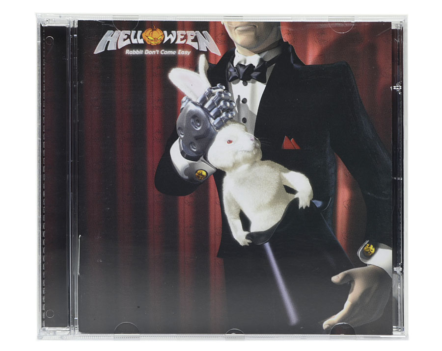 CD Helloween - Rabbit Dont Come Easy - Lacrado