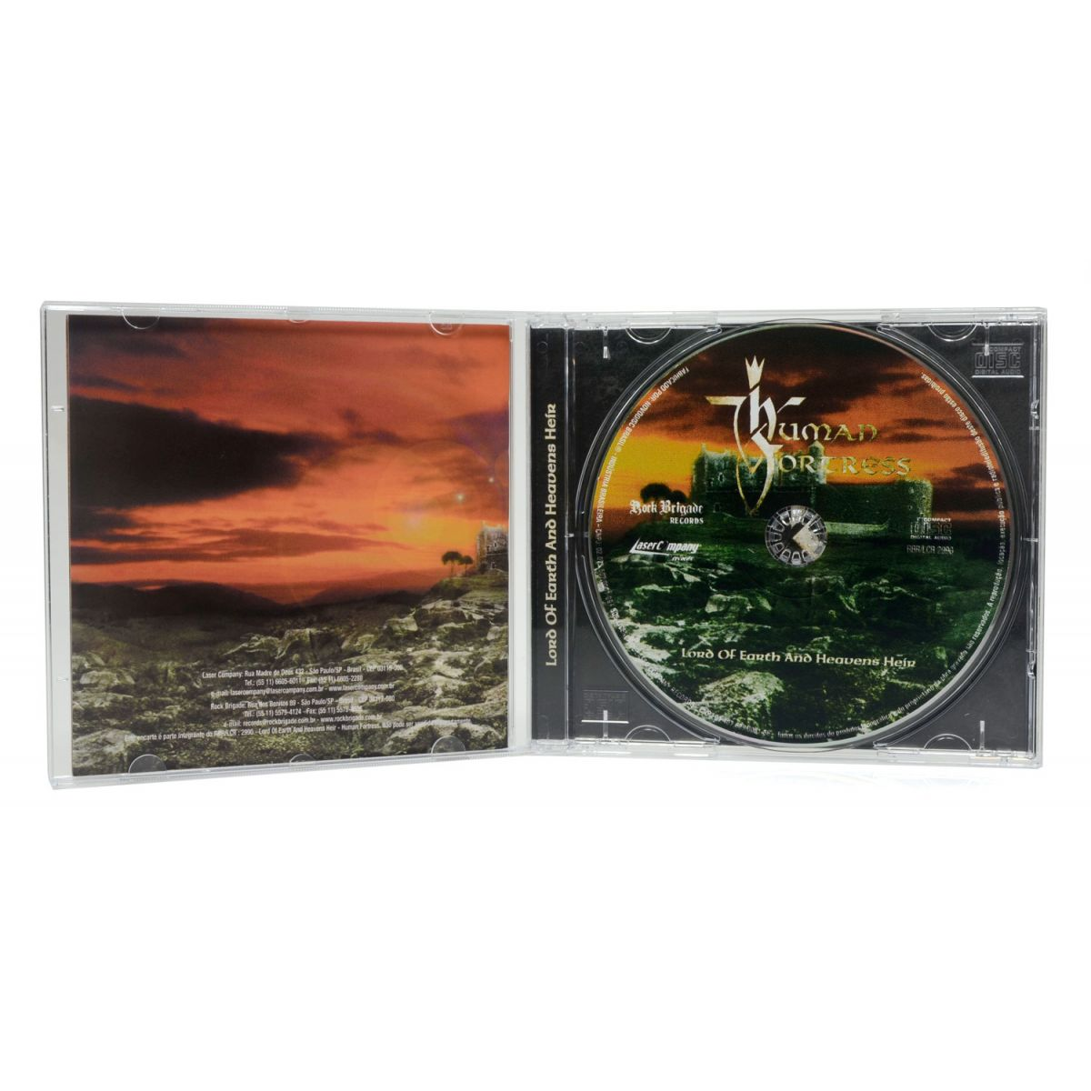 CD Human Fortress - Lord of Earth and Heavens Heir - Lacrado