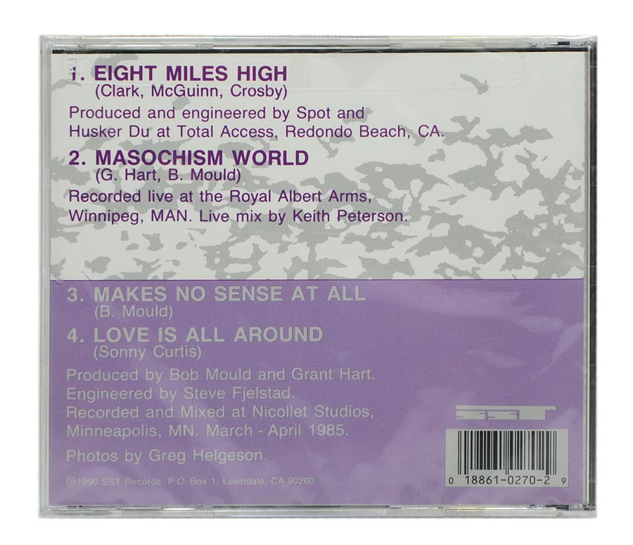 CD Husker Du - Eight Miles High / Makes No Sense At All - Importado - Lacrado