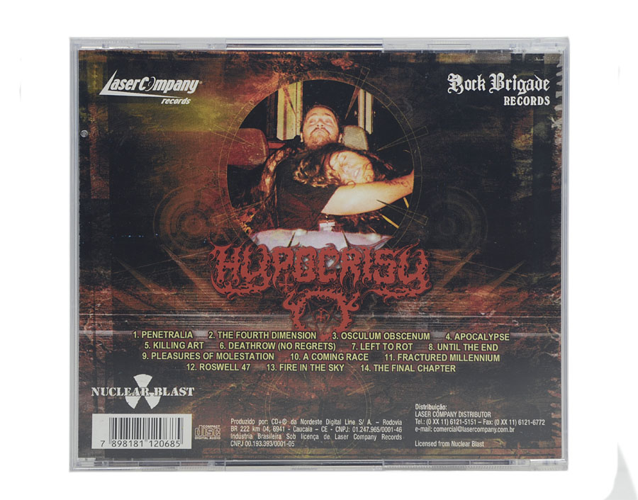 CD Hypocrisy - 10 Years Of Chaos And Confusion - Lacrado
