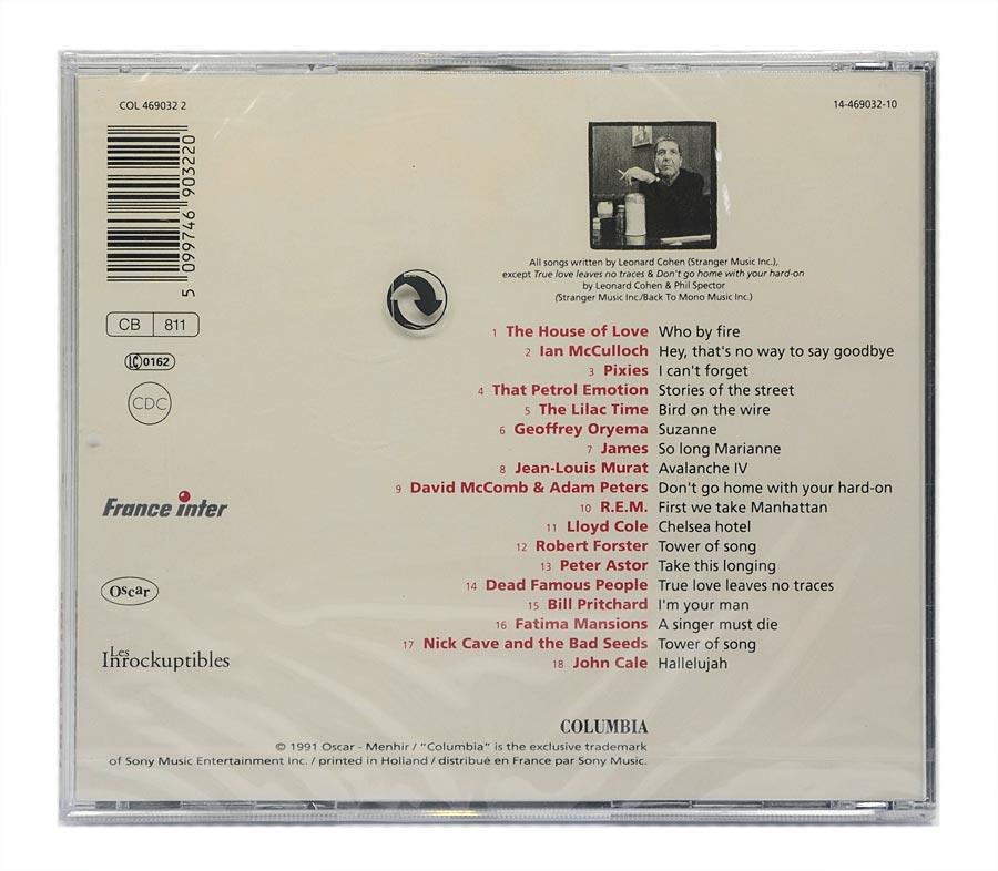 CD I'm Your Fan: The Songs Of Leonard Cohen by... - Importado - Lacrado