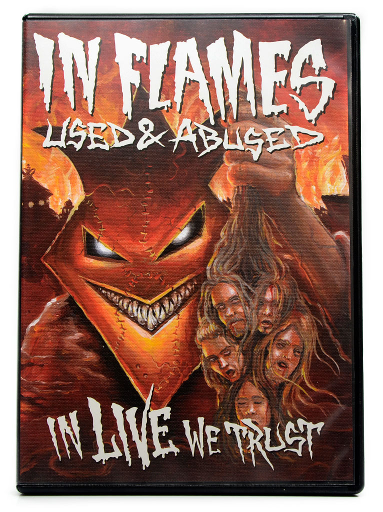 CD In Flames - Used & Abused In Live We Trust - Lacrado - Duplo