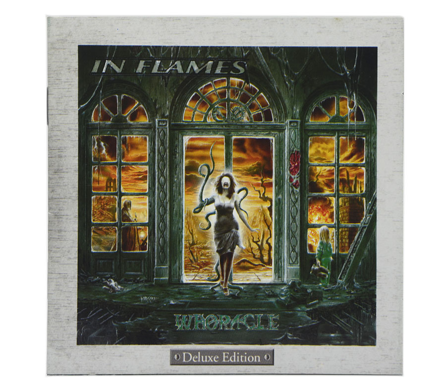 CD In Flames - Whoracle - Deluxe Edition - Lacrado