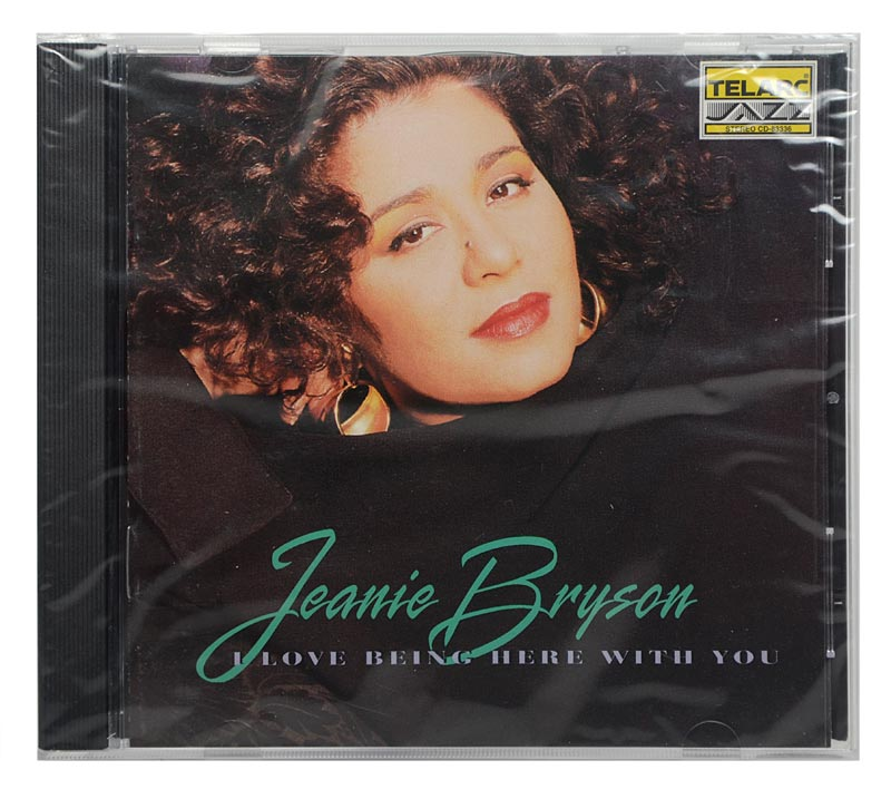 CD Jeanie Bryson - I Love Being Here With You - Importado - Lacrado