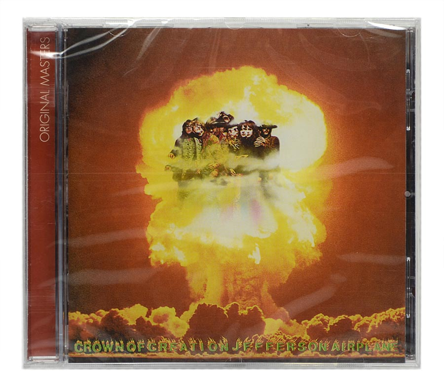 CD Jefferson Airplane - Crown Of Creation - Importado EU- Lacrado