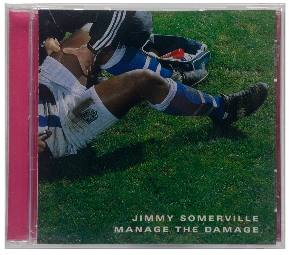 CD Jimmy Somerville - Manage The Damage - Importado Alemanha - Lacrado