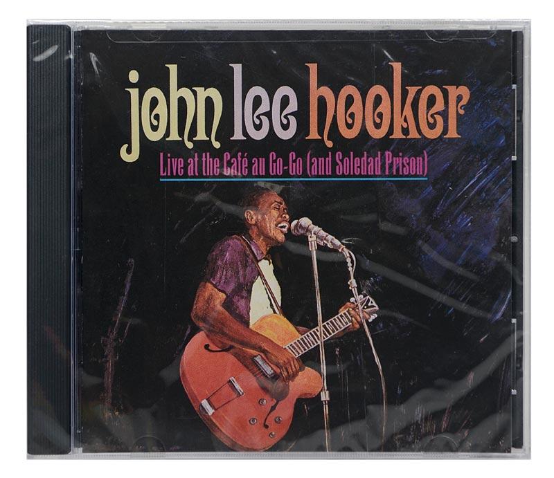 CD John Lee Hooker - Live At Café Au Go-Go (and Soledad Prison) - Importado - Lacrado