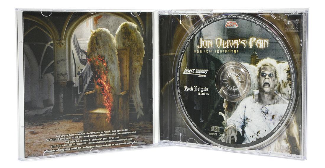 CD Jon Olivas Pain - Maniacal Renderings - Lacrado