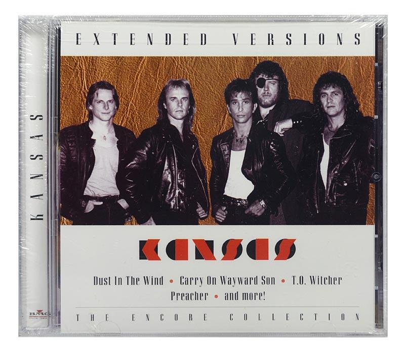 CD Kansas - Extended Versions Live - Importado - Lacrado