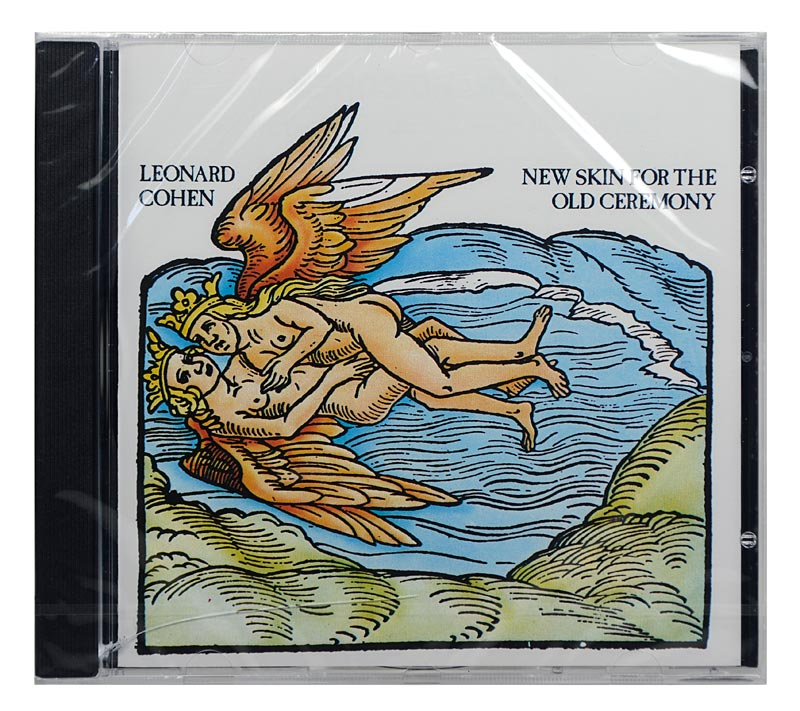 CD Leonard Cohen - New Skin For The Old Ceremony - Importado - Lacrado