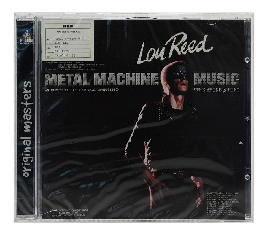 CD Lou Reed - Metal Machine Music - Importado EU - Lacrado