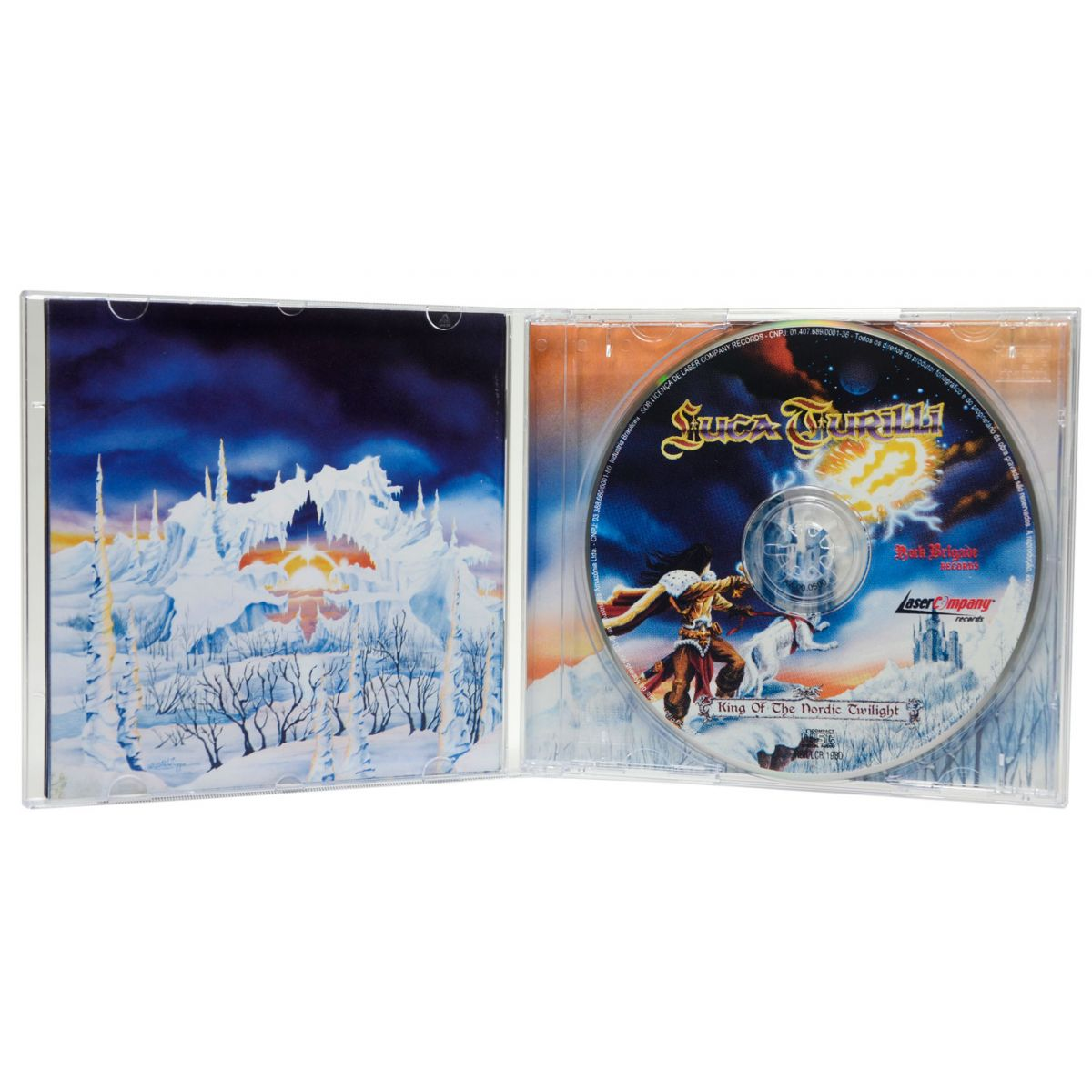 CD Luca Turilli - King Of The Nordic Twilight - Lacrado