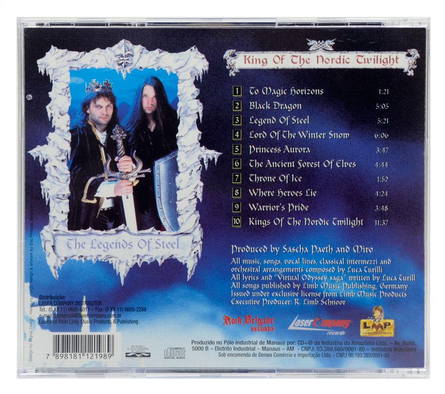 CD Luca Turilli - King Of The Nordic Twilight - Lacrado