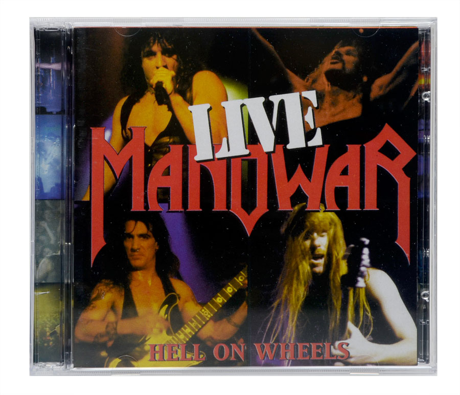 CD Manowar Live - Hell On Wheels - Duplo - Lacrado