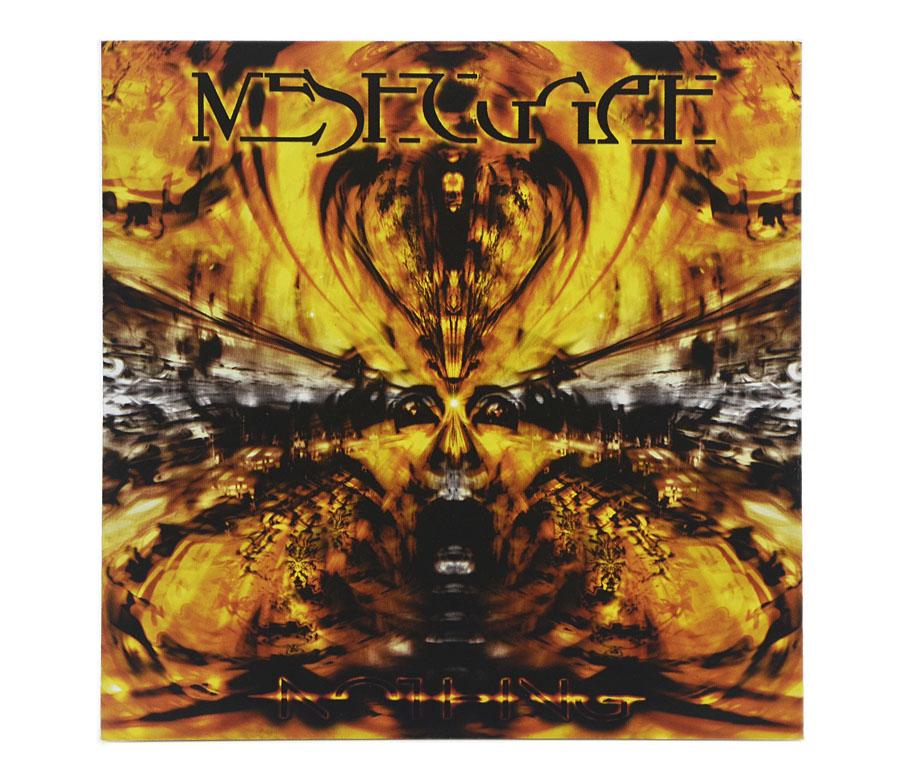CD Meshuggah - Nothing - Lacrado