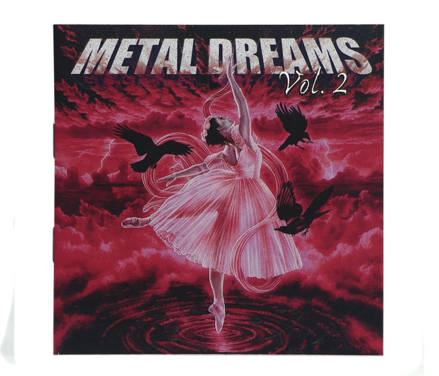 CD Metal Dreams Vol.2 - Coletânea Baladas Metal - Lacrado