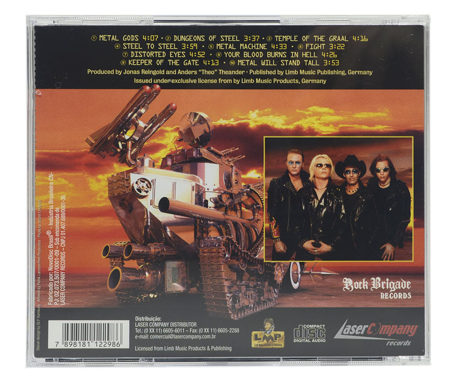 CD Midnight Sun - Metal Machine - Lacrado