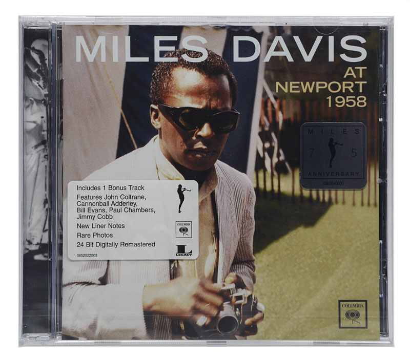 CD Miles Davis - At Newport 1958 - Importado - Lacrado