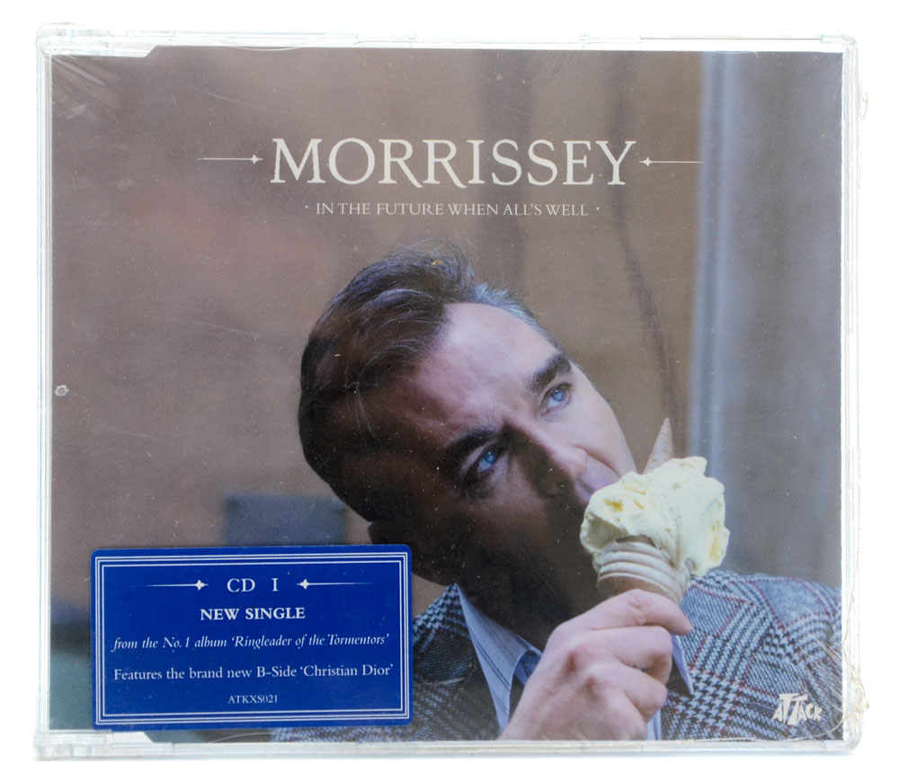 CD Morrissey - In The Future All's Well Parte 1 - Importado - Lacrado