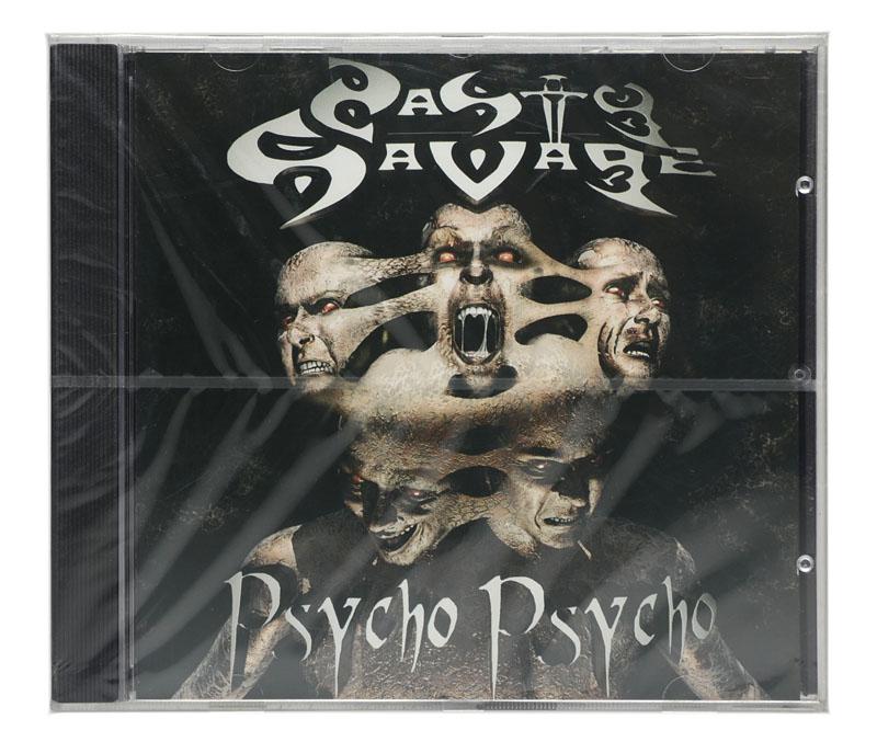CD Nasty Savage - Psycho Psycho - Importado EU -  Lacrado