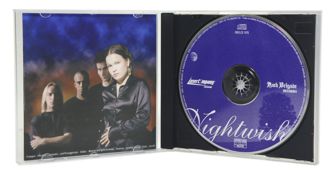 CD Nightwish - Angels Fall First - Lacrado