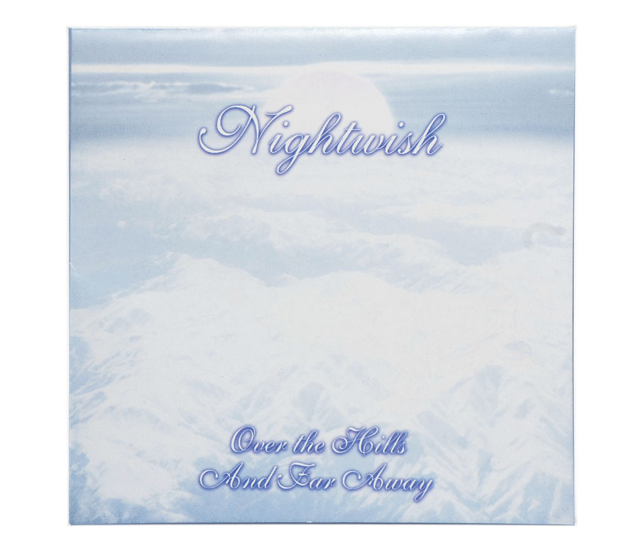 CD Nightwish - Over The Hills And Far Away - Lacrado