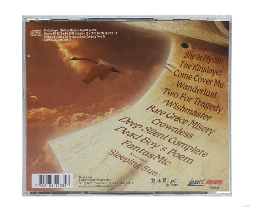 CD Nightwish - Wishmaster - Lacrado