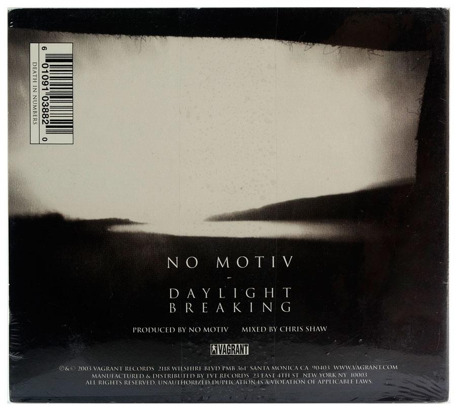 CD No Motiv - Daylight Breaking - Importado - Lacrado