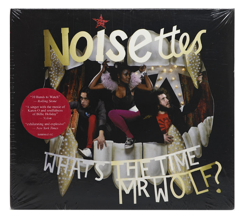 CD Noisettes - Whats The Time Mr Wolf - Importado USA - Lacrado