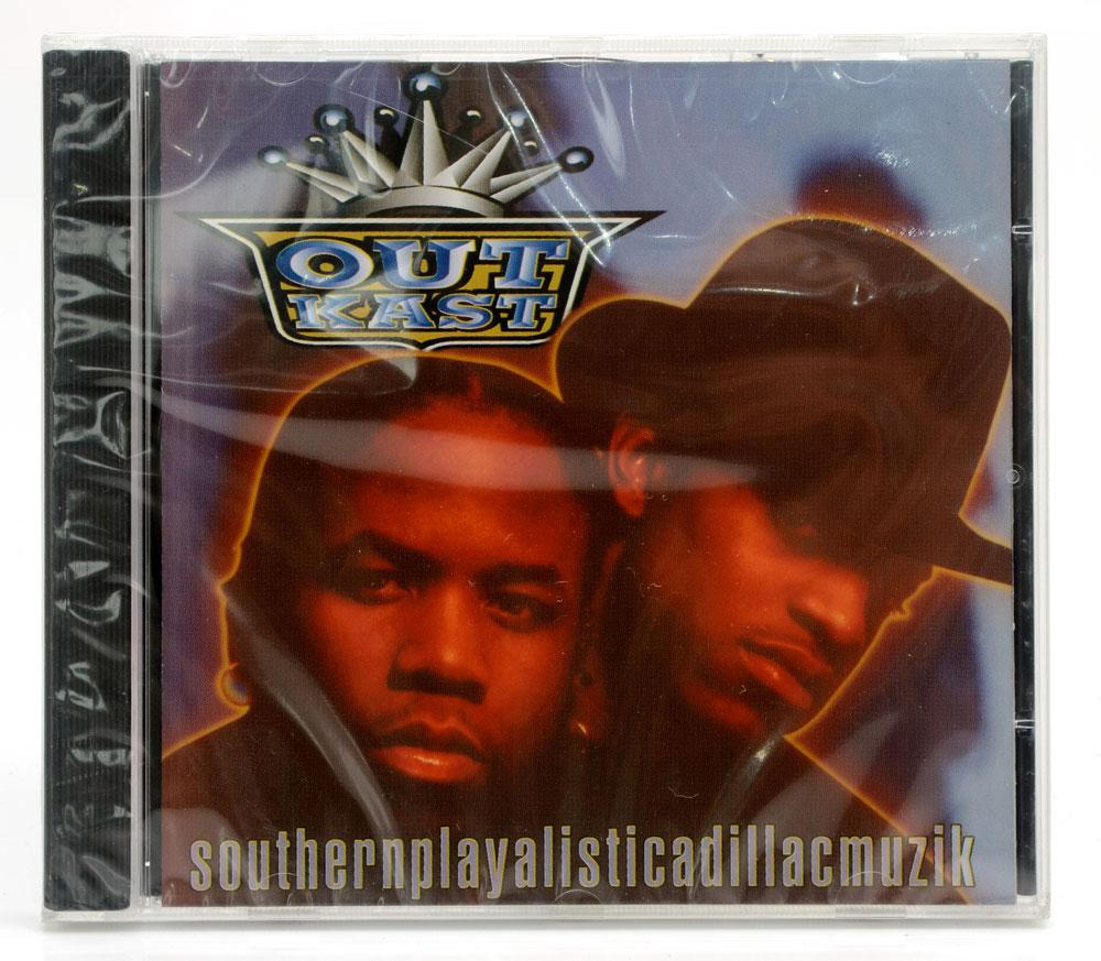 CD OutKast - Southernplayalisticadillacmuzik - Importado - Lacrado