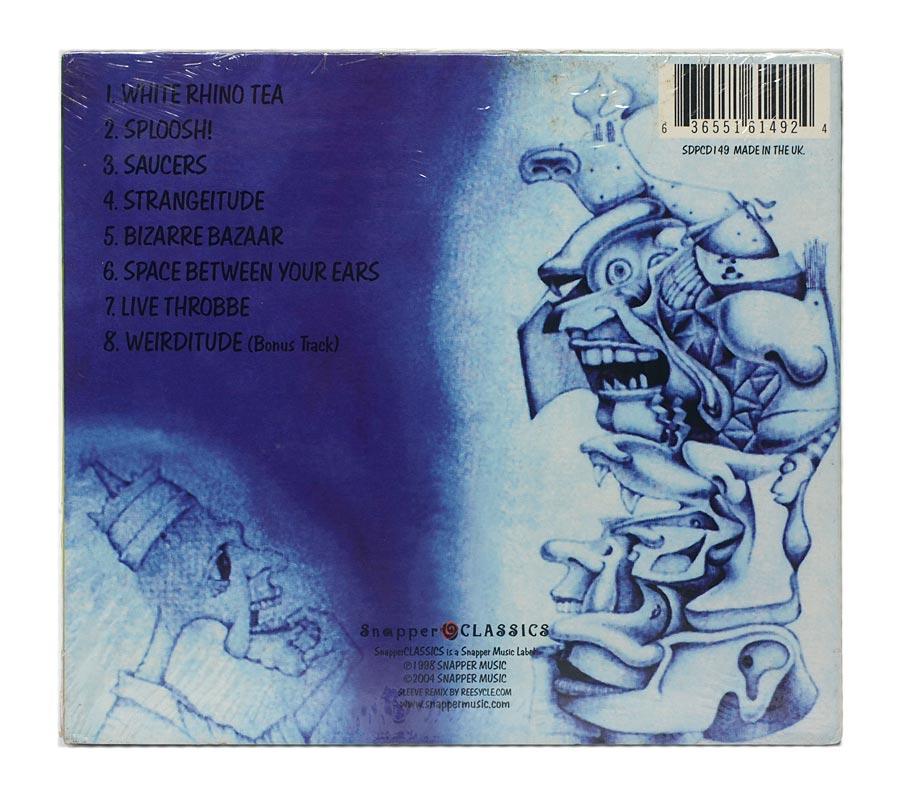 CD Ozric Tentacles - Strangeitude - Digipack - Importado UK - Lacrado