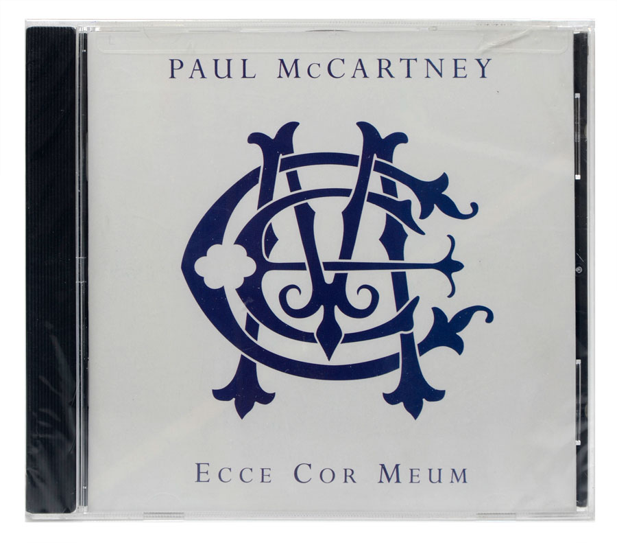CD Paul McCartney - Ecce Cor Meum - Importado USA - Lacrado
