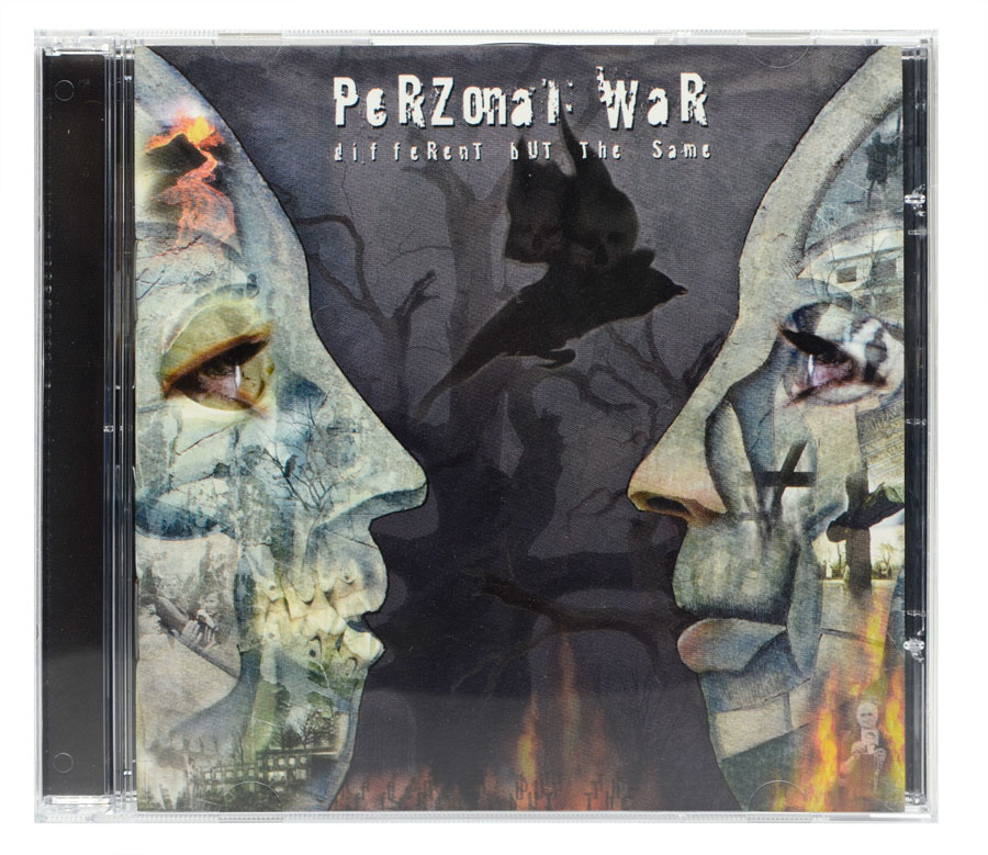 CD Perzonal War - Different But The Same - Lacrado