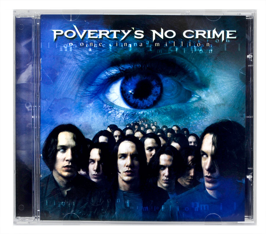 CD Povertys No Crime - One In A Million - Lacrado