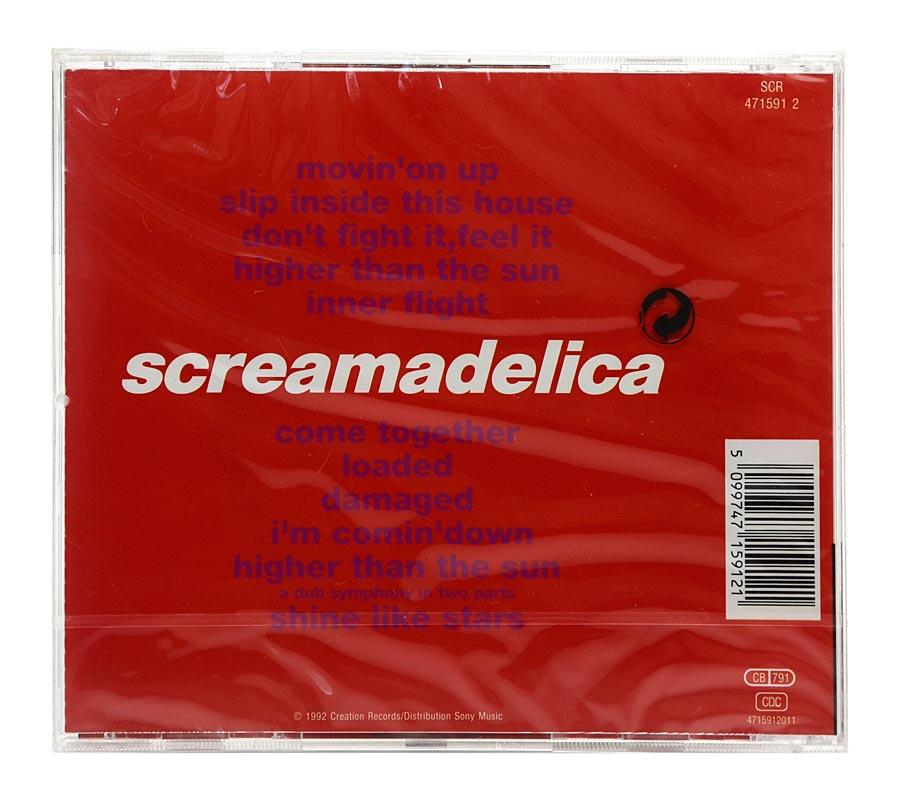 CD Primal Scream - Screamadelica - Importado - Lacrado
