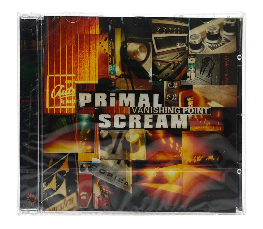CD Primal Scream - Vanishing Point - Importado - Lacrado