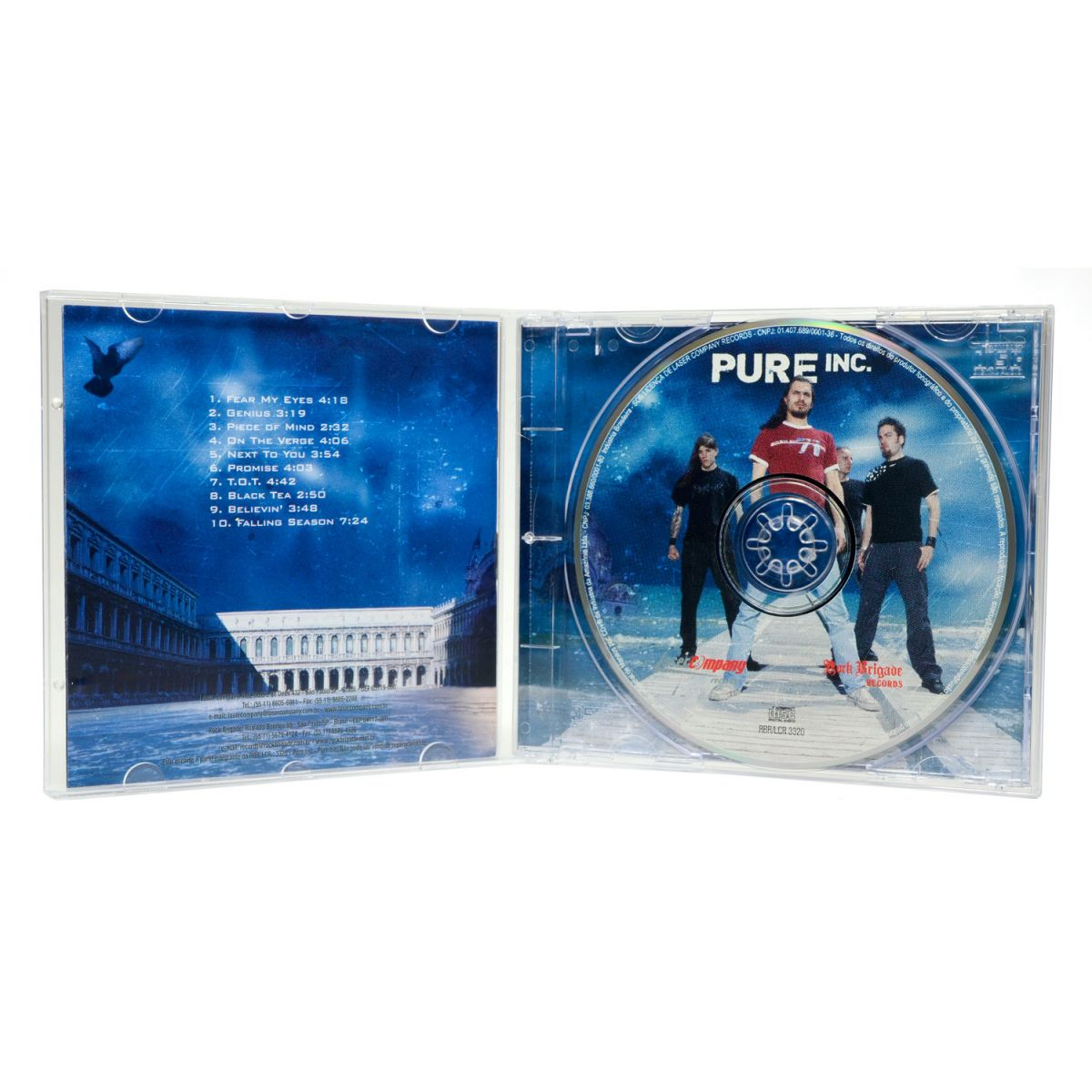 CD Pure Inc - Pure Inc - Lacrado