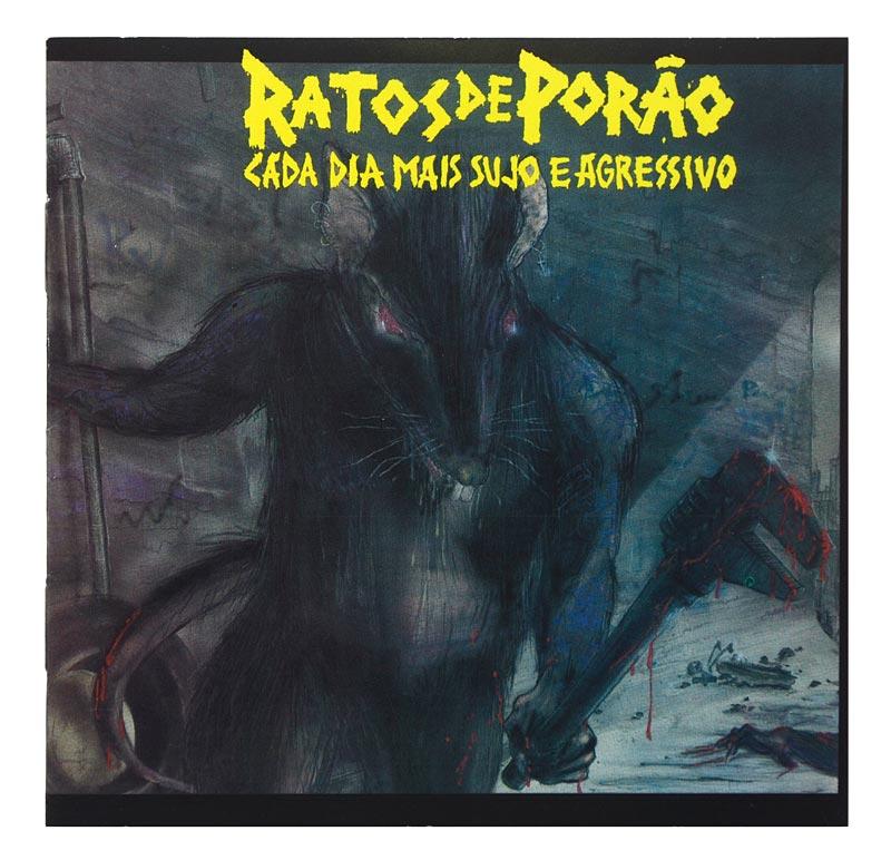 CD Ratos de Porão - Cada Dia Mais Sujo e Agressivo - Lacrado