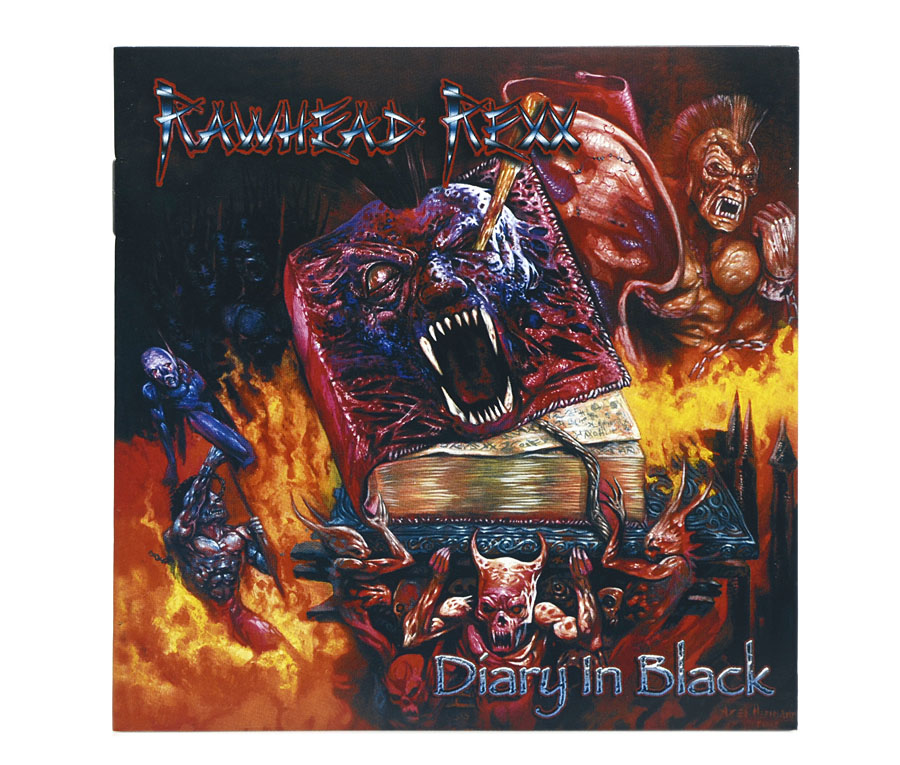 CD Rawhead Rexx - Diary In Black - Lacrado