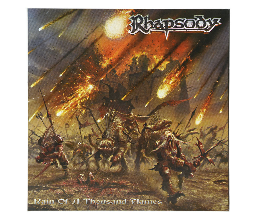 CD Rhapsody - Rain Of A Thousand Flames - Lacrado