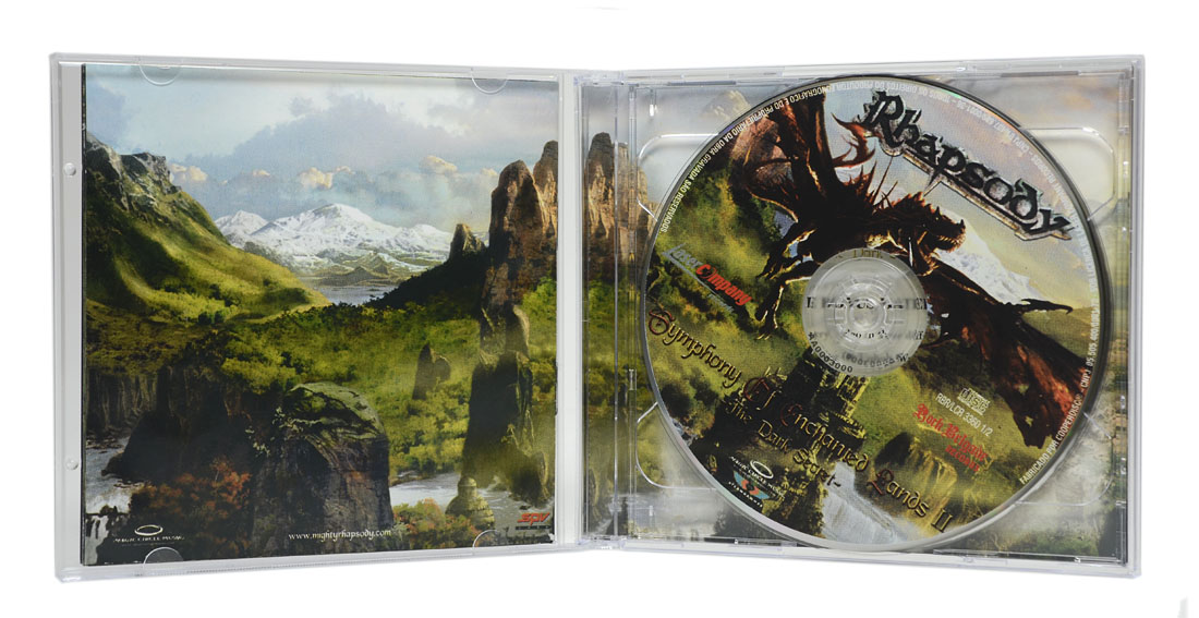 CD Rhapsody - Symphony of Enchanted Lands II: The Dark Secret (Duplo: CD + DVD) - Lacrado