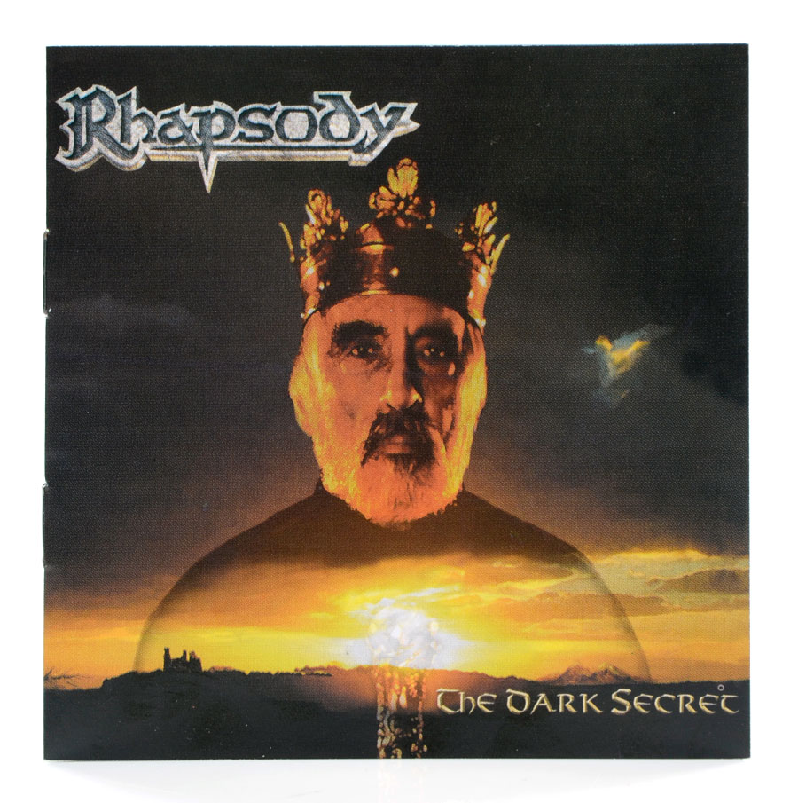 CD + DVD Rhapsody - The Dark Secret - Digipack - Lacrado