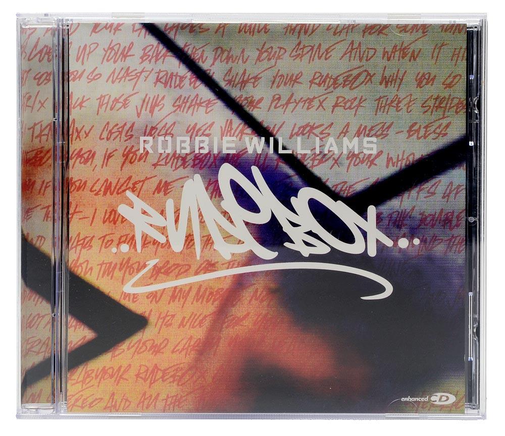 CD Robbie Williams - Rudebox - Importado Europa