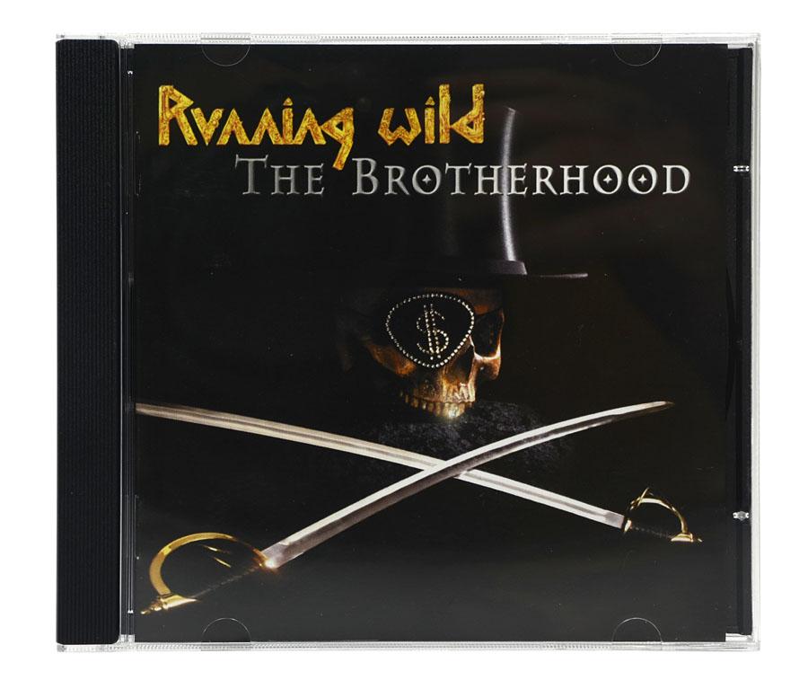 CD Running Wild - The Brotherhood - Lacrado