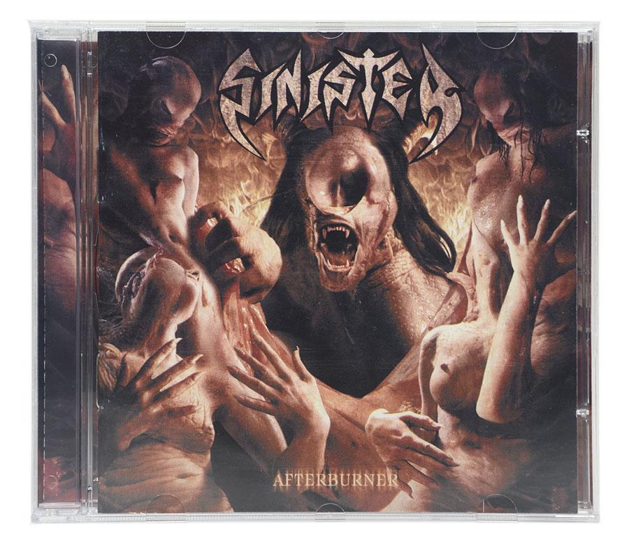 CD Sinister - Afterburner - Lacrado